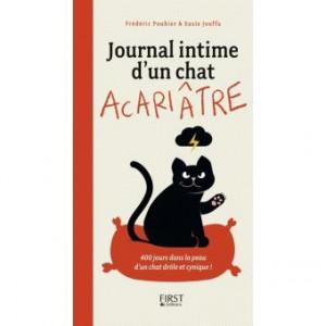 Jouffa Susie - Pouhier Frédéric - Journal intime d'un chat acariâtre tome 1